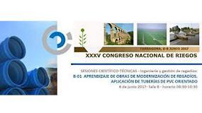 Foto de Molecor colabora en el XXXV Congreso Nacional de Riegos AERyD