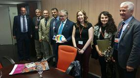 Picture of Una delegación pesquera turca realiza la primera visita de estudio a España