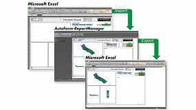 Foto de AutoFormplus R7 ofrece ahora informes en formato Excel