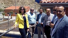 Foto de El Ayuntamiento de Blanca y Diputados Regionales de Murcia visitan las obras del proyecto Life Ramses