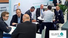 Foto de Klaes presenta sus innovaciones bajo el lema Industria 4.0 en Ligna 2017