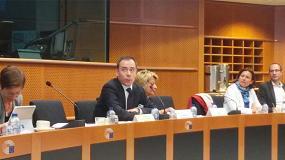 Foto de El World Chemical Summit se presenta en una jornada en el Parlamento Europeo en Bruselas