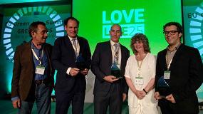 Foto de Bread4PLA, premiado como uno de los dos mejores proyectos LIFE en la categoría de medio ambiente