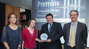 Foto de Covestro es galardonada con el Premio Especial de Seguridad Feique 2016