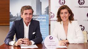 Foto de Aguirre Newman se incorpora a la red de empresas de la Fundación máshumano