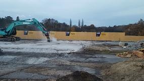 Foto de Las fresas de MB Crusher contribuyen a la exitosa demolición de un puente en Alemania