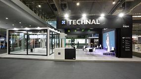 Foto de Technal exhibe en Construmat sus nuevas series Esbeltal y Artyal