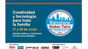 Foto de In(3D)ustry colabora en la organización de la primera Barcelona Maker Faire