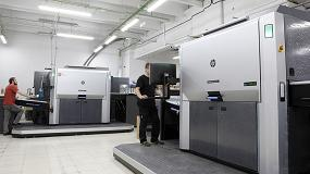 Foto de Truyol amplía su capacidad de producción con una nueva prensa digital HP Indigo 12000