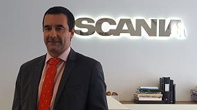Foto de Jesús Tejada, nuevo director comercial de Scania Finance