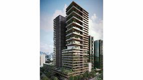 Foto de Cor Vision Plus de Cortizo, en dos torres de viviendas de lujo en Ciudad de México