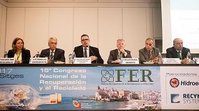 Foto de Los líderes mundiales de la industria del reciclaje hacen un llamamiento a la unidad del sector en el 15°Congreso de FER