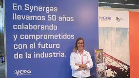 Fotografia de Entrevista a Elena Troyano, departamento de Marketing de Synergas