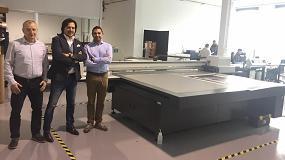 Foto de Nueva instalación en Adaequo de la Impala2 del fabricante SwissQprint