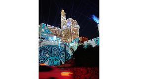 Foto de Epson colabora con AVS en la producción de un increíble espectáculo de luces y proyección en las murallas de la Ciudad Antigua de Jerusalén