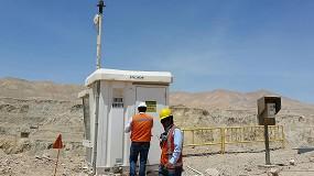 Foto de Las cámaras Bosch ayudan a que la minería de cobre en Chile sea más segura y productiva