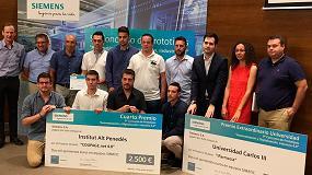 Foto de Siemens premia a los estudiantes más innovadores en el 9º Concurso de Prototipos 'Automatización y Digitalización. Industria 4.0'