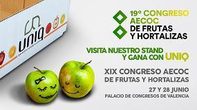 Foto de El envase agrícola de cartón ondulado Uniq, presente en el XIX Congreso Aecoc de Frutas y Hortalizas