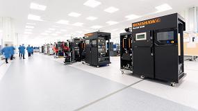 Foto de Renishaw presenta últimas novedades de fabricación aditiva metálica en Addit3D