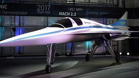 Foto de La impresión 3D acelera el desarrollo de un avión supersónico
