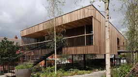 Picture of Se inaugura en Oldham el primer edificio del mundo hecho con madera dura de tulipwood