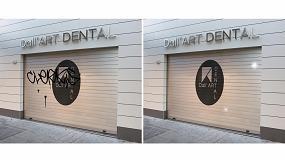 Foto de Persax lanza un sistema contra los grafitis en las persianas de comercios
