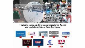 Foto de Apecs publica un especial de vídeos de Ferroforma en su canal de Youtube