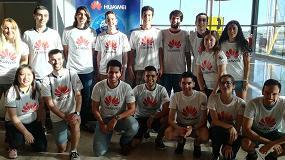 Foto de 15 estudiantes españoles de Ingeniería empiezan su formación en TIC en China de la mano de Huawei