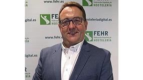 Foto de José Luis Yzuel, nuevo presidente de la Federación Española de Hostelería