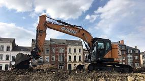 Picture of La CX245D SR de Case convence a su primer cliente en Bélgica