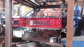 Foto de Grupo FEM separa los metales de 25.000 toneladas de neumáticos en Recuperaciones Emro