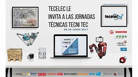 Foto de Jornadas Tecni-Tec de Tecelec, lo último en robótica y automatización de packaging