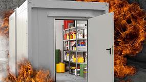 Foto de El reglamento de Almacenamiento de Productos Químicos evitará numerosos incendios en naves industriales