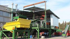 Foto de Tecnología Tomra en la planta de reciclaje Rottami Srl