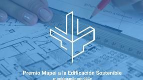 Foto de GBCe colabora en la I Edición del Premio Mapei a la Edificación Sostenible