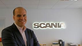 Foto de Manuel Nieves, nombrado responsable de vehículos especiales y sector público de Scania Ibérica