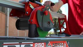 Foto de Rubi Zero Dust, un sistema innovador y patentado por Rubi para mejorar las condiciones de trabajo en la obra