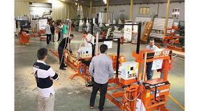 Foto de Hersan organiza unas jornadas de presentación y demostración de maquinaria para trabajar la madera