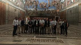 Foto de Carrier España invita a sus clientes a una visita privada a la Capilla Sixtina en Roma
