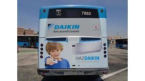 Foto de Daikin recorre las principales ciudades españolas