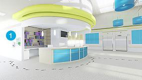 Foto de La ubicación de dispensadores es clave para la desinfección de manos en hospitales