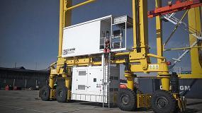 Foto de Himoinsa suministra grupos electrógenos a las grúas que realizan la carga y descarga de contenedores