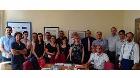 Foto de CNTA participa en la reunión de inicio del proyecto europeo H2020 BioBarr en Milán