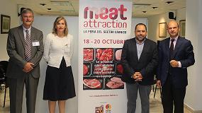 Foto de Meat Attraction se presenta al sector cárnico andaluz