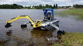 Foto de Vehículos anfibio para la limpieza y mantenimiento de los ríos