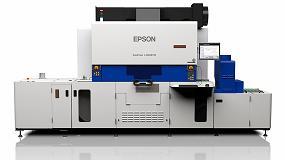 Foto de Epson muestra su gama de impresoras y prensas para etiquetas en LabelExpo 2017