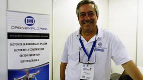 Foto de Entrevista a Enrique Estades, director de operaciones de Dronexplorer