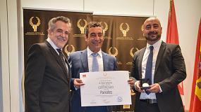 Foto de Paredes recibe la Medalla de Oro a los Profesionales de la Imagen