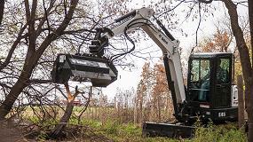 Picture of Nuevas desbrozadoras de martillos para excavadoras Bobcat