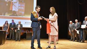 Foto de ISTOBAL concede el Premio al mejor estudiante de Ingeniería Aeroespacial de la UPV